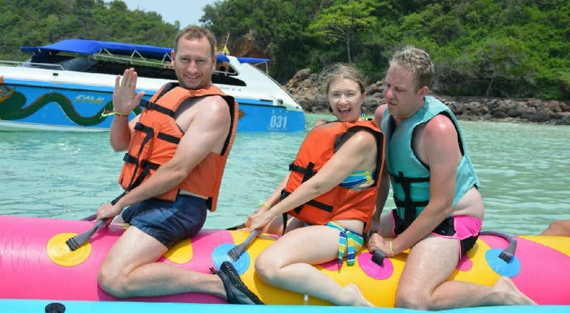 Boat tour in Pattaya