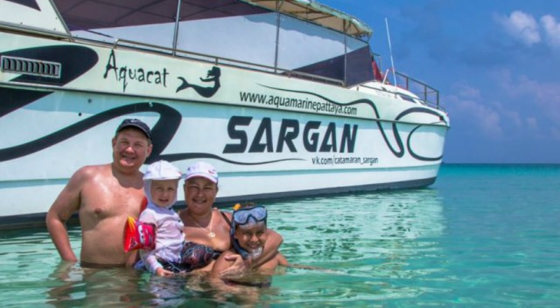 Catamaran Sargan