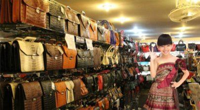 Leather and souvenir shop
