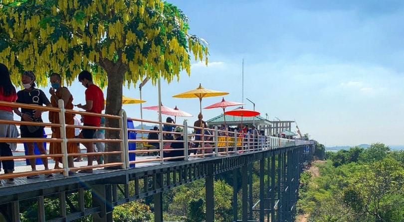 Glass bridges in Thailand